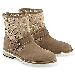 Joe Browns - Taupe amazing summer suede boots