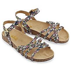 Joe Browns - Multi coloured long hot summer sandals