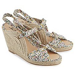 Joe Browns - Multi coloured south beach wedge espadrilles