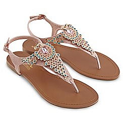Joe Browns - Pale pink caesar's palace sandals