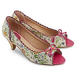 Joe Browns - Multi coloured sweet meadow peep toe shoes