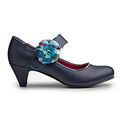 Joe Browns - Navy sensational corsage shoes