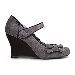 Joe Browns - Grey fun and flattering wedge shoes