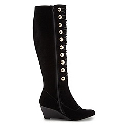 Joe Browns - Black sensational velvet boots