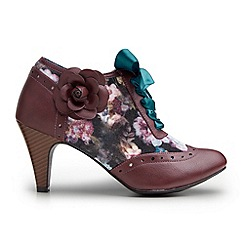 Joe Browns - Plum make a statement shoe boots