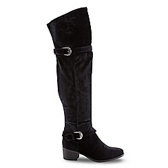 Joe Browns - Black eye catching over the knee boots
