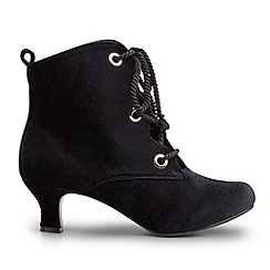 Joe Browns - Black magical velvet bootees