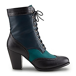 Joe Browns - Dark turquoise inspirational ankle boots