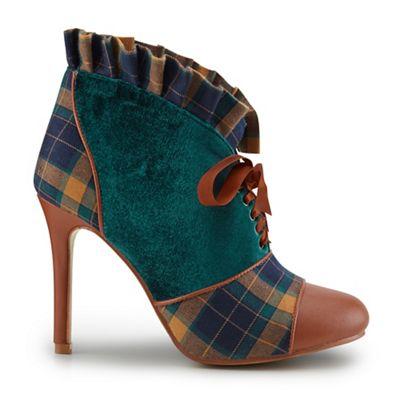 joe browns multi coloured beautiful shoe boots debenhams
