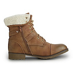 Joe Browns - Tan favourite ankle boots