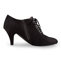 Joe Browns - Black boutique eyelet bootees