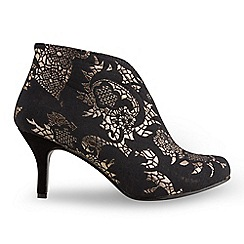 Joe Browns - Multi coloured jazzy jacquard bootees