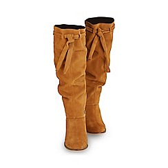 Joe Browns - Tan sensational slouch suede boots