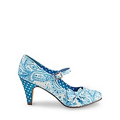 Joe Browns - Blue sweet melody bow shoes