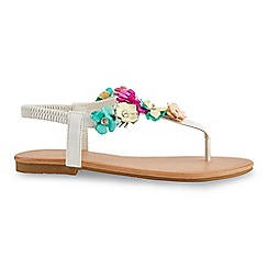Joe Browns - Multi coloured villa lante garden sandals