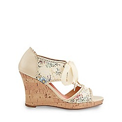 Joe Browns - Cream a day to remember shoes