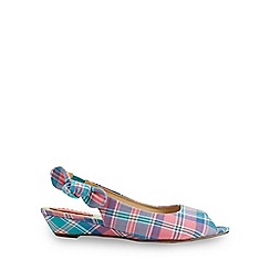 Joe Browns - Multi coloured cafe lydia peep toe shoes