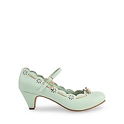 Joe Browns - Pale green fifi's charming shoes
