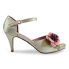 Joe Browns - Multi coloured corsage vintage occasion shoes