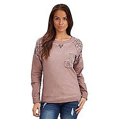 Joe Browns - Pink versatile sweat