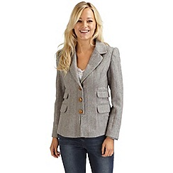 Joe Browns - Beige terrific tailored blazer