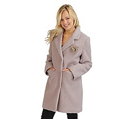 Joe Browns - Pale pink elegant envelope coat