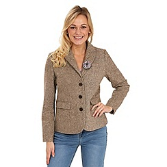 Joe Browns - Tan terrific textured jacket
