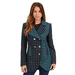 Joe Browns - Dark turquoise eye catching coat