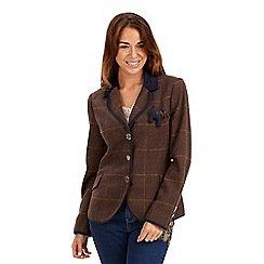 Joe Browns - Chocolate heritage jacket
