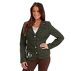 Joe Browns - Green highland fling jacket
