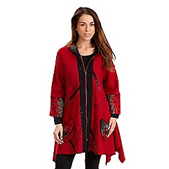 Joe Browns - Red create your own look coat