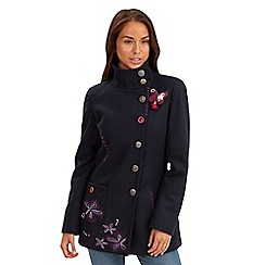 Joe Browns - Navy striking coat