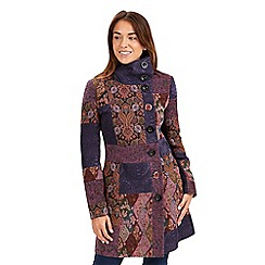 Joe Browns - Multi coloured inspiring coat