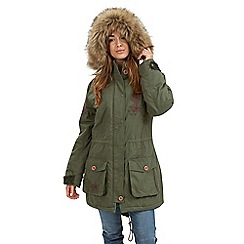 Joe Browns - Khaki perfect parka