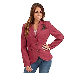 Joe Browns - Dark pink charismatic jacket