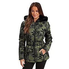 Joe Browns - Green winter warmer coat