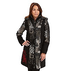 Joe Browns - Multi coloured freestyle funky duffle coat