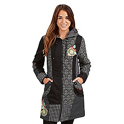 Joe Browns - Multi coloured mix it up coat