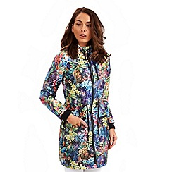 Joe Browns - Multi coloured floral raincoat