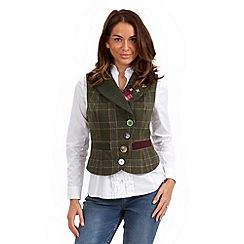 Joe Browns - Green heritage waistcoat