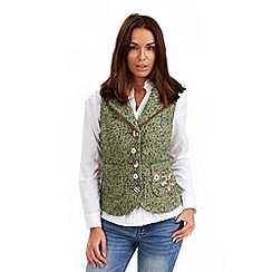 Joe Browns - Light green pura vida waistcoat