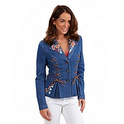 Joe Browns - Blue unique denim jacket