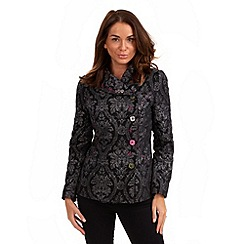Joe Browns - Black jacquard  jacket