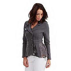 Joe Browns - Dark grey boutique jersey jacket