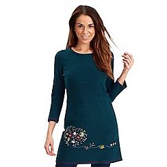 Joe Browns - Dark turquoise pick of the season sweater