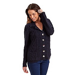 Joe Browns - Navy snuggle knit cardigan