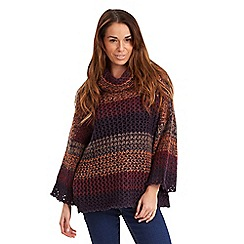 Joe Browns - Multi coloured funky fish net jumper