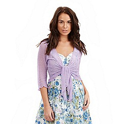 Joe Browns - Lilac popcorn shrug