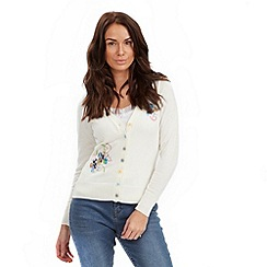 Joe Browns - Cream amazing applique cardigan