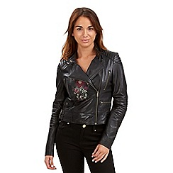 Joe Browns - Black luxurious leather jacket